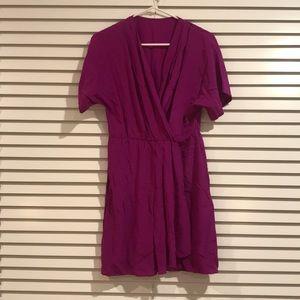 Dresses & Skirts - Pink/purple silk dress